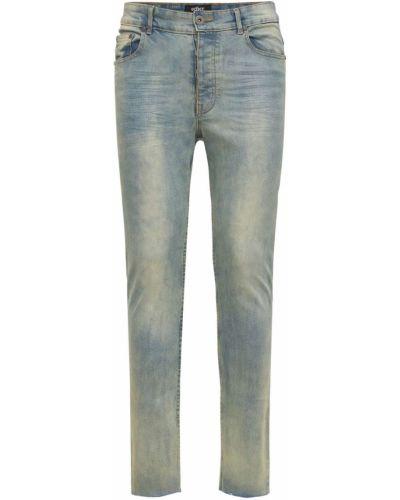 Niebieskie jeansy rurki Other