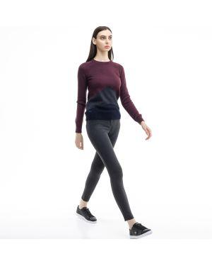 Укороченные брюки из вискозы Lacoste