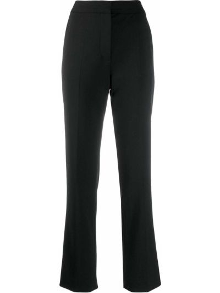 Брюки с завышенной талией с карманами черные Victoria, Victoria Beckham