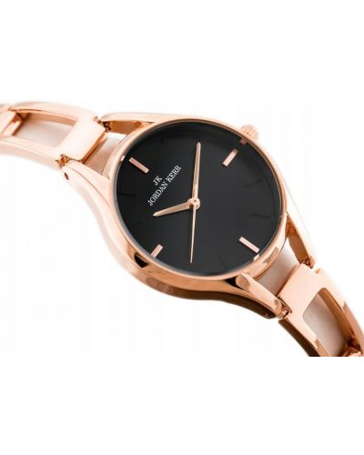 Klasyczny czarny zegarek Jordan Kerr