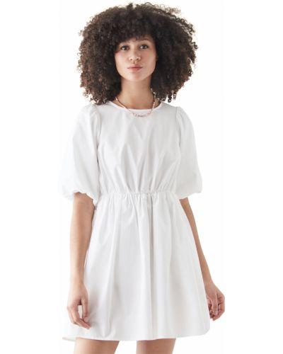 Хлопковое платье мини стрейч на крючках Madewell