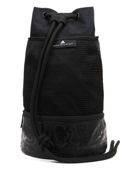 Рюкзак спортивный на молнии черный Stella Mccartney Sport