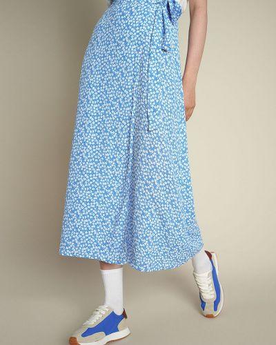 Повседневная синяя юбка O'stin