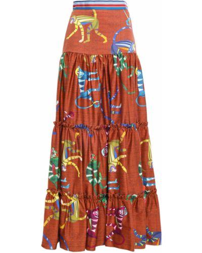 Трикотажная юбка Stella Jean