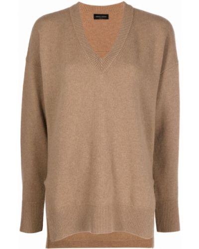 Кашемировый свитер - коричневый Roberto Collina
