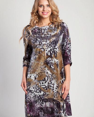 Разноцветное платье Olga Peltek