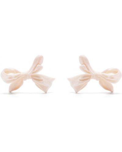Różowe kolczyki sztyfty Shushu/tong