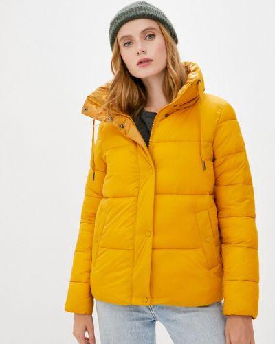 Теплая желтая утепленная куртка S.oliver