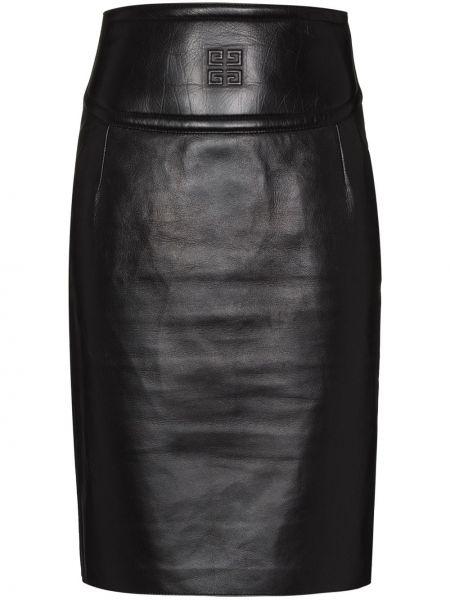 Spódnica ołówkowa - czarna Givenchy