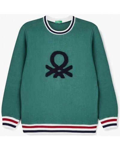 Зеленый свитшот United Colors Of Benetton
