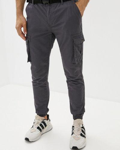 Серые брюки карго Defacto