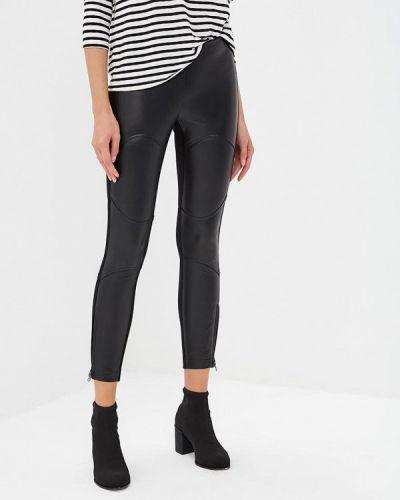 Черные брюки повседневные Woolrich