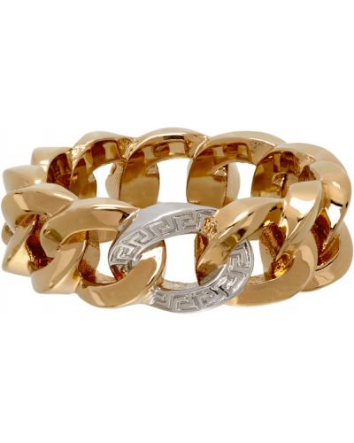 Кольцо золотое Versace