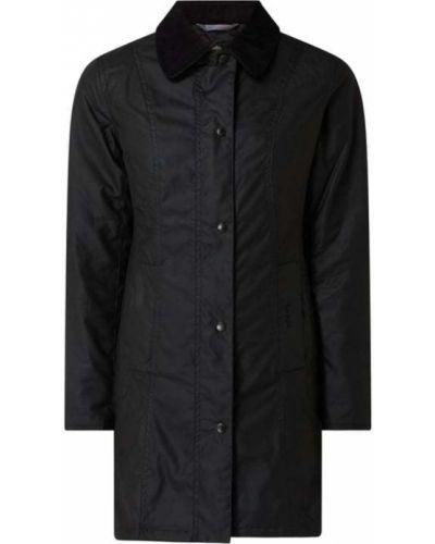 Czarna kurtka bawełniana Barbour