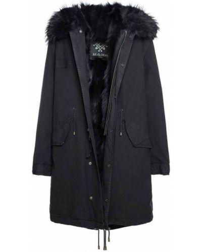 Czarny płaszcz Mr&mrs Italy