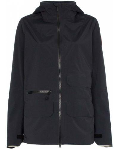 Куртка черная водонепроницаемая Canada Goose