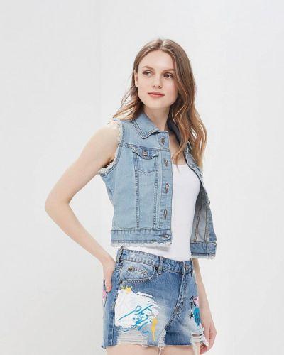 Жилетка джинсовая синий Motivi