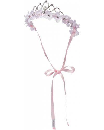 Розовая диадема металлическая Monnalisa