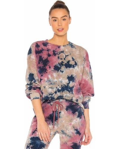 Fioletowa bluza bawełniana vintage Daydreamer