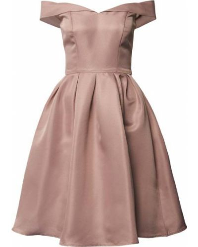 Sukienka koktajlowa - różowa Chi Chi London