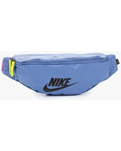 Поясная сумка синий Nike
