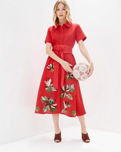 Платье красный Yukostyle