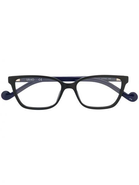 Черные очки прямоугольные Liu Jo