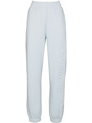 Спортивные брюки из полиэстера - синие P.e Nation