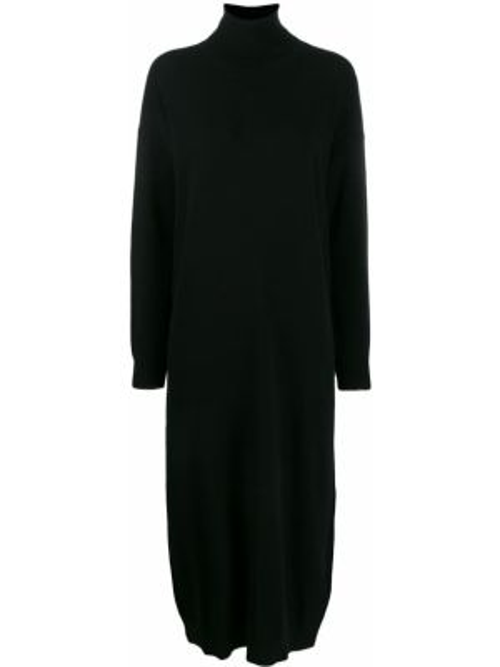 Платье миди платье-свитер черное Dsquared2