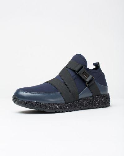 Кожаные синие туфли Vensi