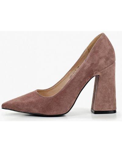 Туфли на каблуке розовый Marie Collet