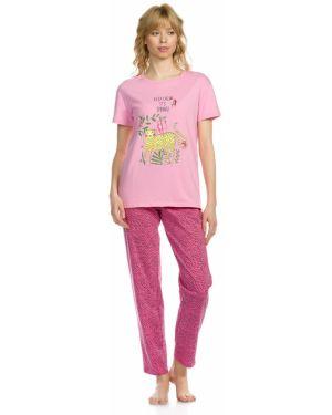 С рукавами пижамная пижама с брюками на резинке Pelican