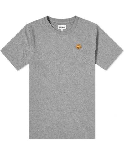 T-shirt - szara Kenzo