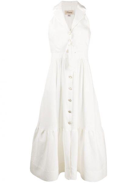 Платье на пуговицах платье-майка Temperley London