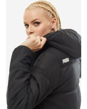 Куртка с капюшоном черная Puma