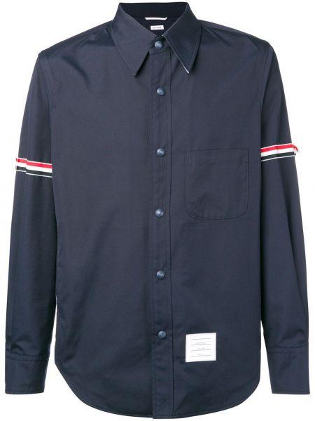 Koszula z długim rękawem klasyczna w paski Thom Browne