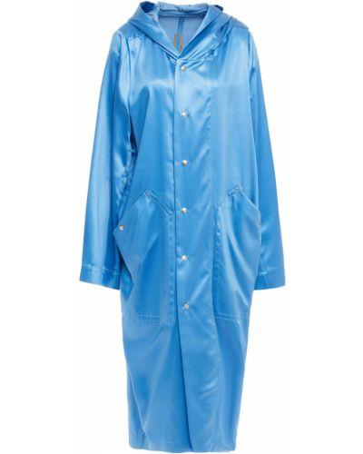 Płaszcz - niebieski Rick Owens