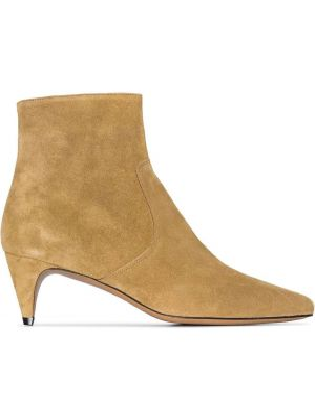 Buty na obcasie na pięcie z ostrym nosem Isabel Marant