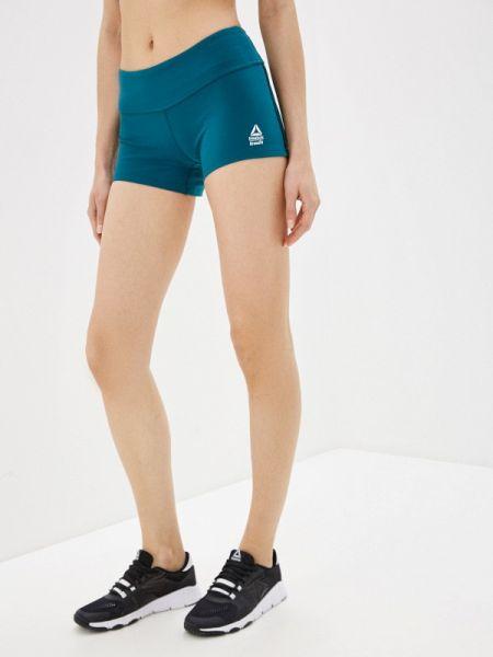 Спортивные шорты бирюзовый Reebok