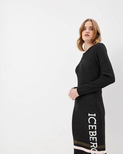 Повседневное платье осеннее Iceberg