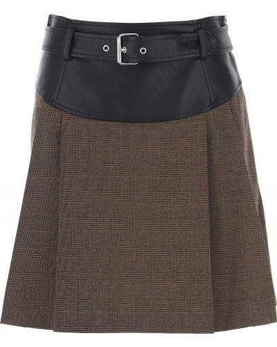 Czarna spódnica bawełniana Moschino
