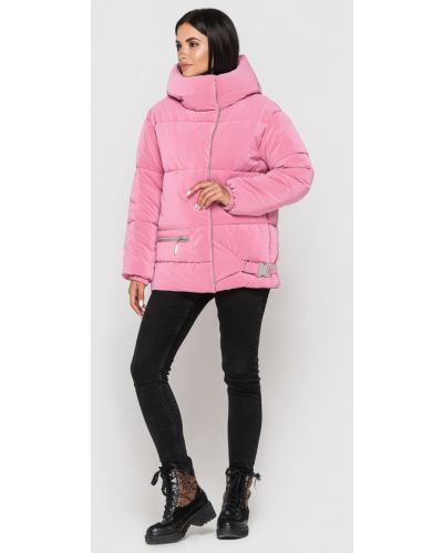 Куртка с капюшоном - розовая Kattaleya