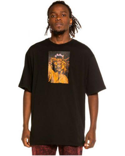 Czarna t-shirt Grimey