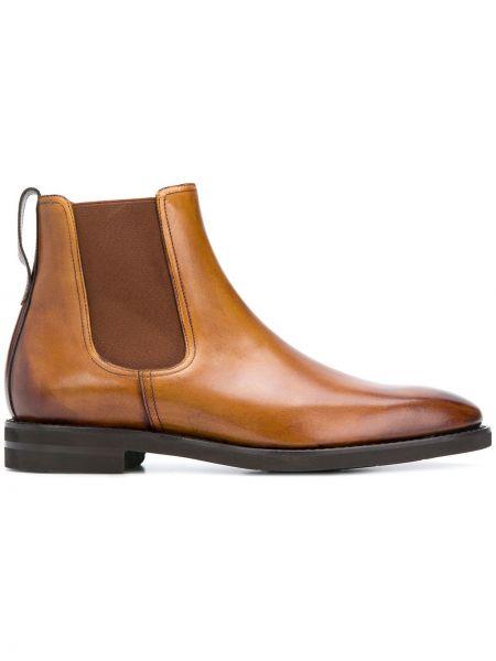 Кожаные коричневые классические классические туфли Berwick Shoes