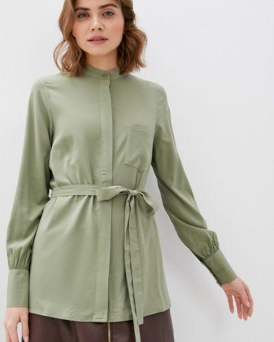 Зеленая блузка с длинными рукавами Trendyangel