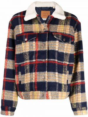 Куртка из искусственного меха - синяя Levi's®