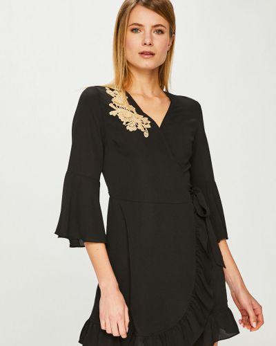 Платье мини с вышивкой прямое Answear