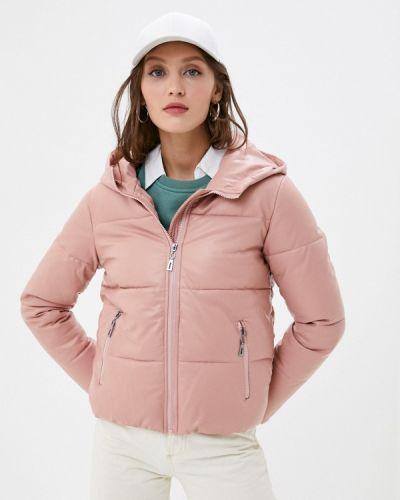 Розовая кожаная куртка Fadjo