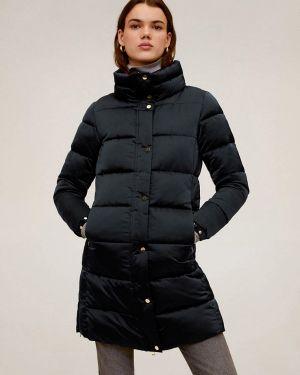 Зимняя куртка весенняя утепленная Mango