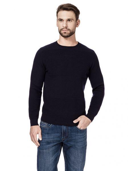 Пуловер темно-синий синий Henderson